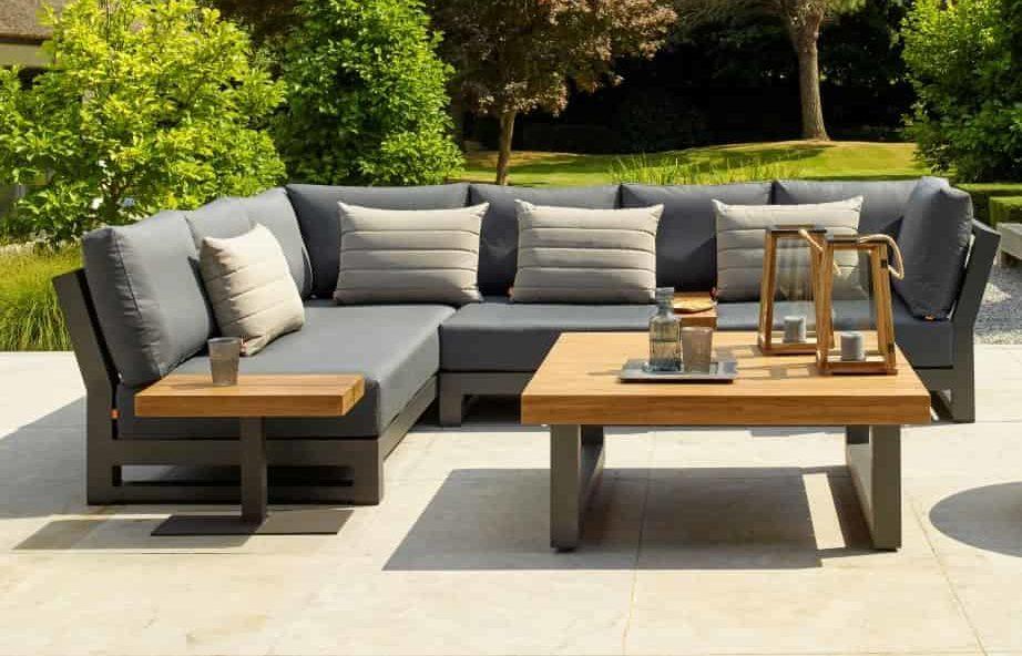 مع الوقت مركب وسادة Garden Sofa, Outdoor Sofa Furniture